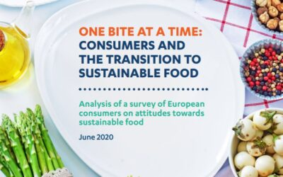 ONE BITE AT A TIME: Consumers and the Transition to Sustainable Food