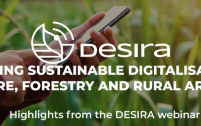 Boosting sustainable digitalisation in agriculture, forestry and rural areas by 2040: Webinar highlights (report & video)