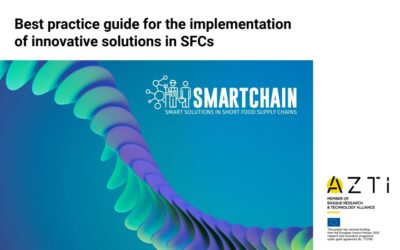 """SMARTCHAIN """"Best practice guide for the implementation of innovative solutions in SFSCs"""""""